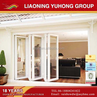 China manufacturer pvc accordion folding door