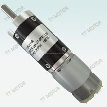 high speed dc motor 385 with 28mm metal gearbox 12v
