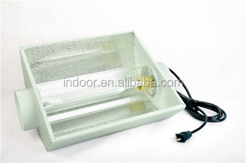 6 INCH AIR COOLED GROW LIGHT REFLECTOR WITH GLASS TUBE HYDROPONICS