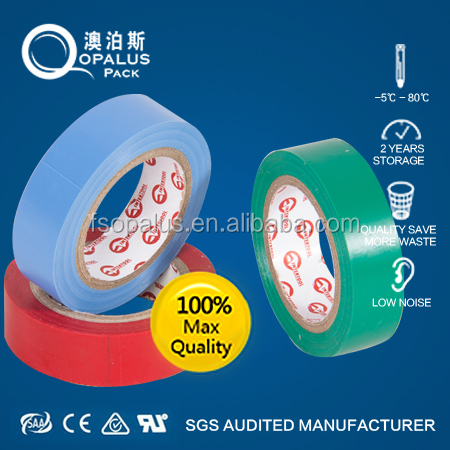 high voltage colorful pvc electrical insulation tape