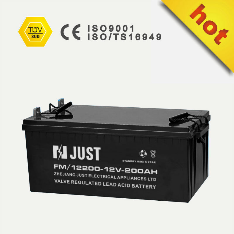 12v 200ah vrla sealed lead acid power battery