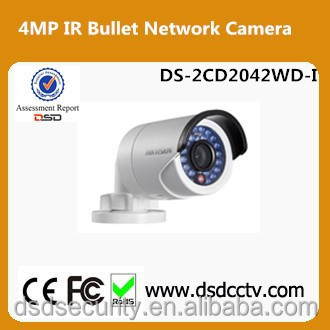 Upgradable Orignal English Hikvision DS-2CD2042WD-I 4MP WDR Bullet IP Camera