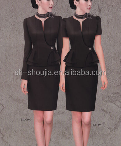 new fashion work uniform ladies office