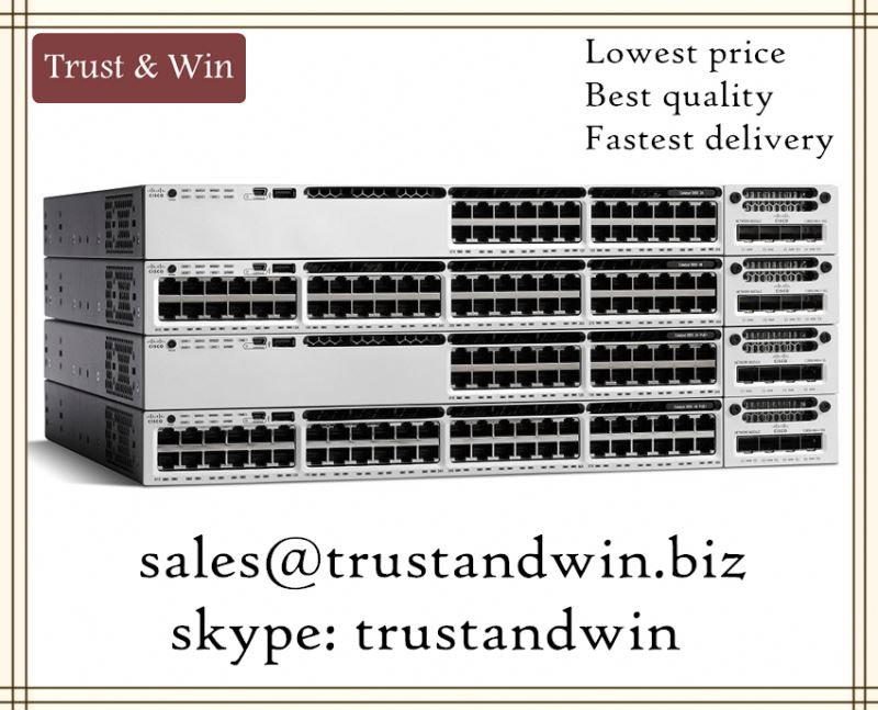 CISCO AUTHENTIC WS-C3850-24T-L Smartnettable Fast Shipment for Middle East