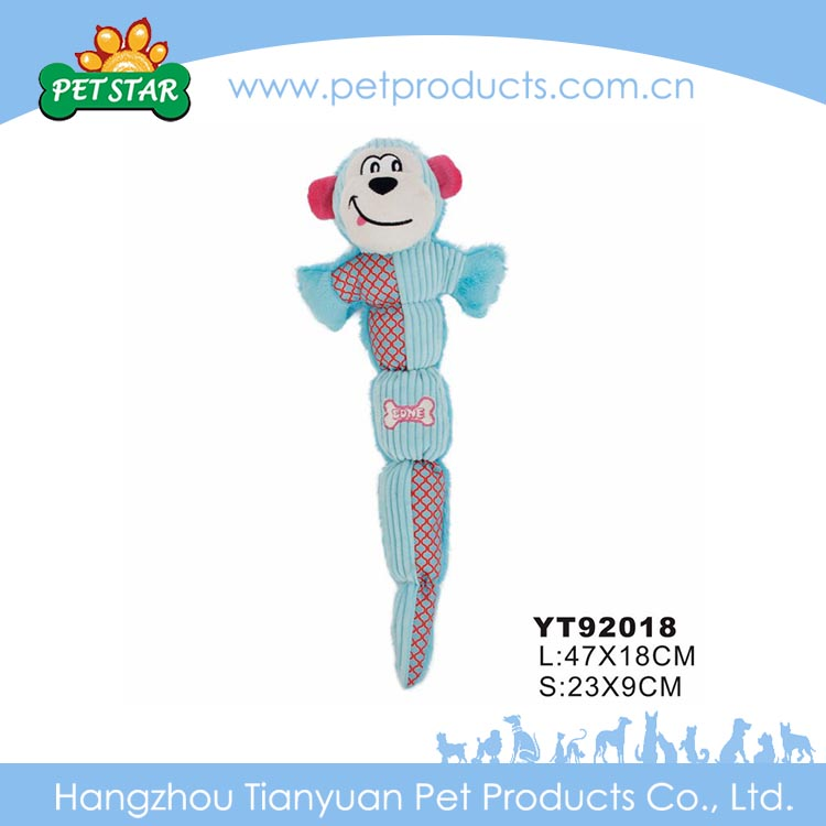 Fashionable High Quality Factory Price Wholesale Animal Dog Tube Plush Dog Toys For Sales