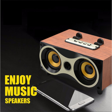 New products 2017 innovative product electronic Bluetooth speaker, FT-XM6 Bluetooth Lautsprecher/Wood bluetooth speaker