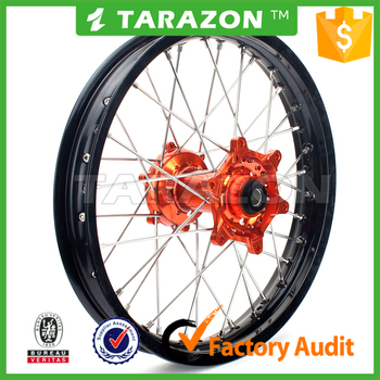 Custom motorcycle rear spoke wheel for KTM