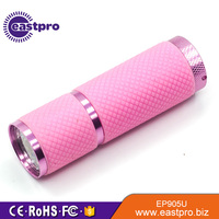 Professionally manufacture hand held ultraviolet light uv black light torch