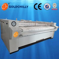 electric/steam/gas heating type used ironing machine for sale(single/double roll ironer)