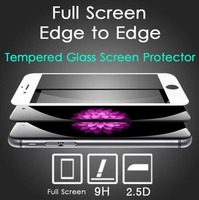 3D Curved Edge Tempered Glass Screen Protector Tempered Glass Screen Protector for Apple iPhone 6 6s Plus