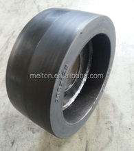 HOT SALE PRESS ON SOLID TIRE 28X16X22 SMOOTH PATTERN LOW PRICE