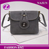 womens shoulder gray long strap leather sling bag for college girl