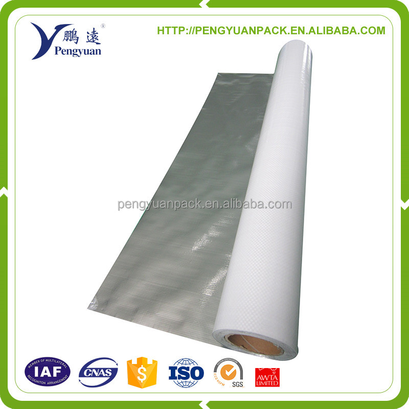 industrial perforated aluminum foil backed wovenc loth insulation