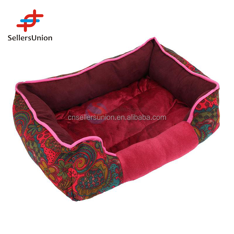 2017 No.1 Yiwu agent commission Agent wanted Comfortable plush pet kennel/soft dog house