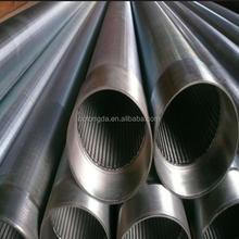 OD 356mm 1m long water well drilling stainless steel johnson type screen pipe manufacturer
