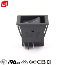 Big current 4 pin 25a 250v ac t125 rocker switch