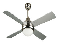 52 inch modern 4 plywood blade ceiling fan single light