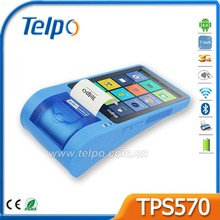 Telpo TPS570 All in One Cheap Android Smart Terminal for Mobile Money