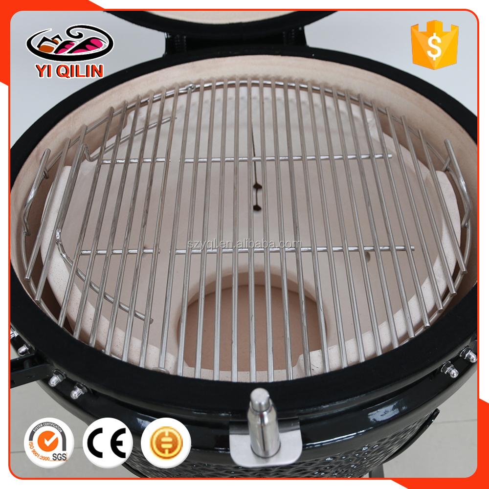 Yql vertical charbon fumeur bbq brasier grill pour l 39 ext rieur grille de barbecue id de produit - Grille pour barbecue vertical ...
