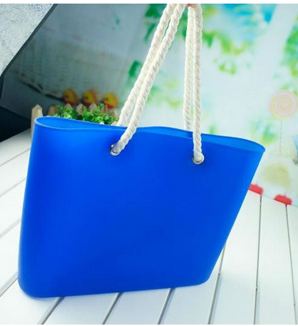 Fashion Silicone Beach Tote Bag,silicone candy bag,shoulder bag for lady