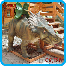 Outdoor Coin Operated Animatronic Dinosaur Amusement Ride For Sale