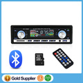 Autoradio Car Radio 12V / 24V Bluetooth V2.0 Stereo In-dash 1 Din FM Aux Input Receiver SD USB MP3 MMC WMA Car Radio Player