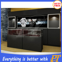 Wholesale fashionable wall mounted watch display case