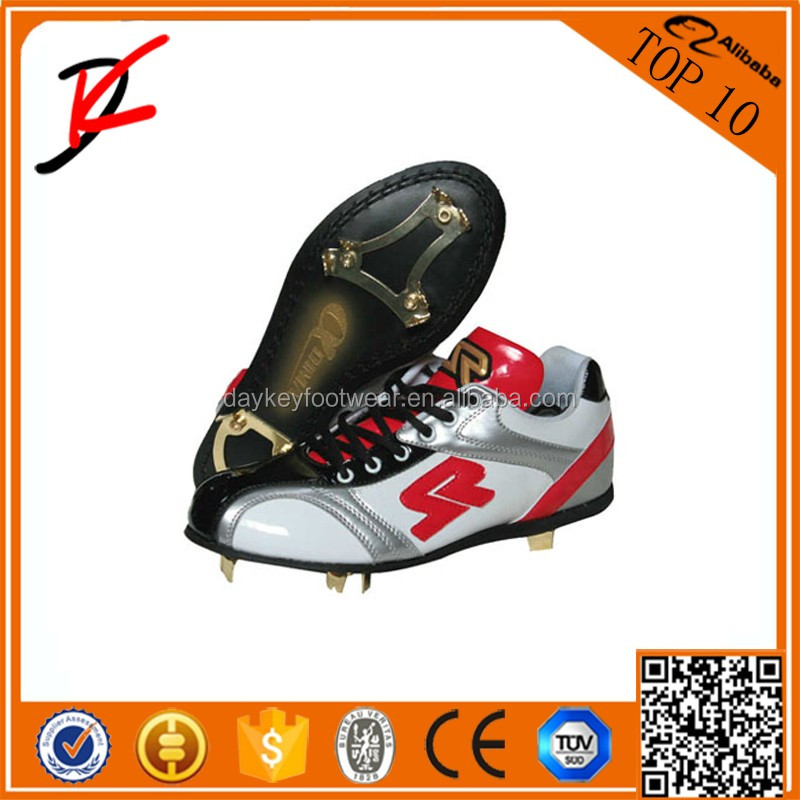 2016 Baseball Bat Balls Home Plate Cleats Shoes Metal Spike Softball Baseball Cleats Shoes Customize Outdoor Training