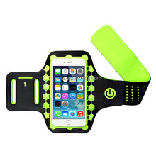 Running Jogging Case Lycra Material Sport Armband case for Mobile Phone