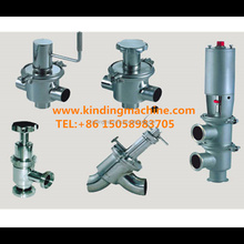 Sanitary Stainless Steel Manual Y-Type Globe Reversing Valve