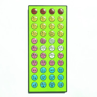 44 keys cheapest wholesale IR remote controller for LED Stripes