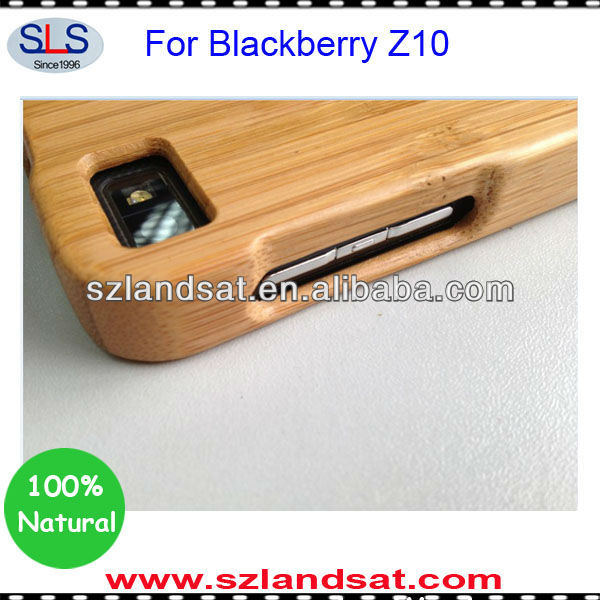 (Factory direct sales) for wooden blackberry Z10 case BBC02