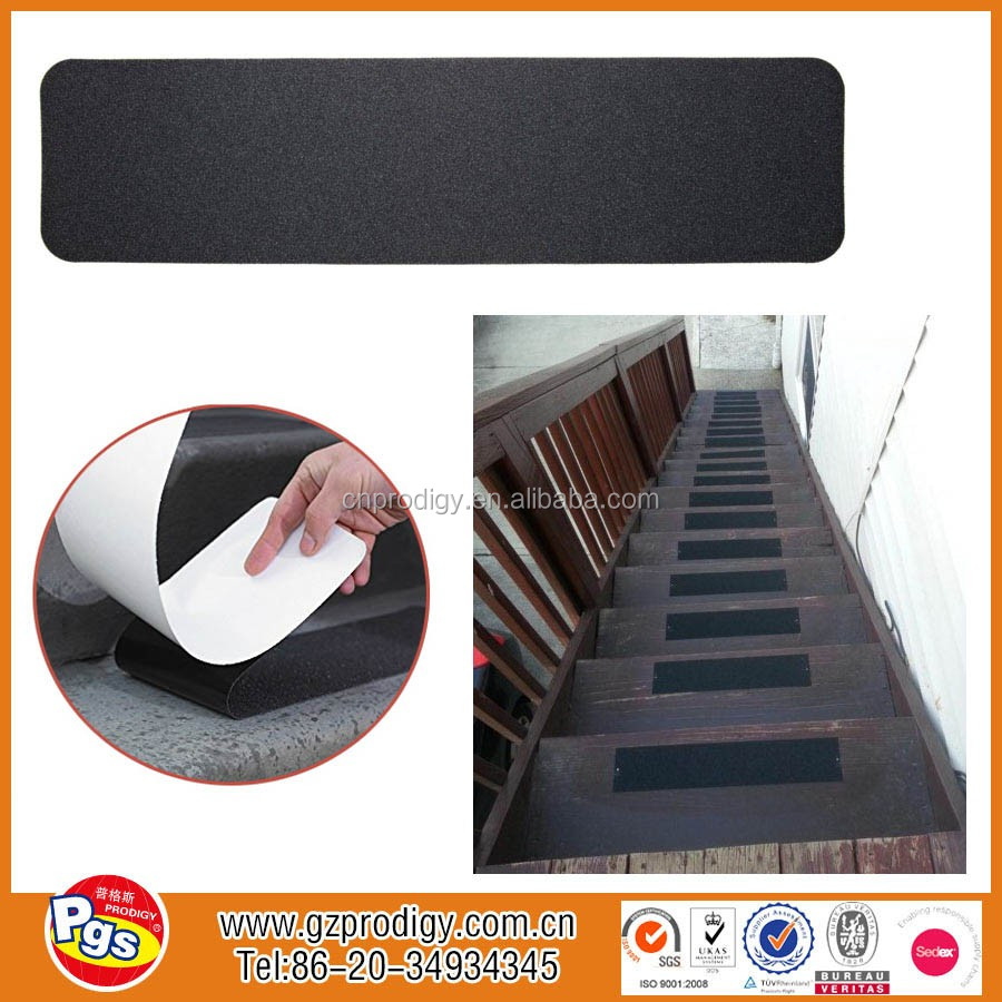 2017 Anti slip strip for stairs,black non slip tape,adhesive anti-slip strip