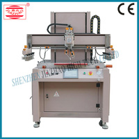 4 color 1 station rotary screen printing press