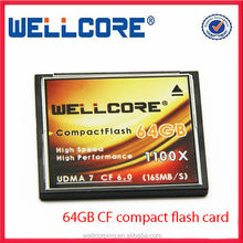 Wholesale Extreme compact flash 64gb with High speed 1100x