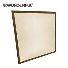 Low voltage glass led 6060 ceiling panel light