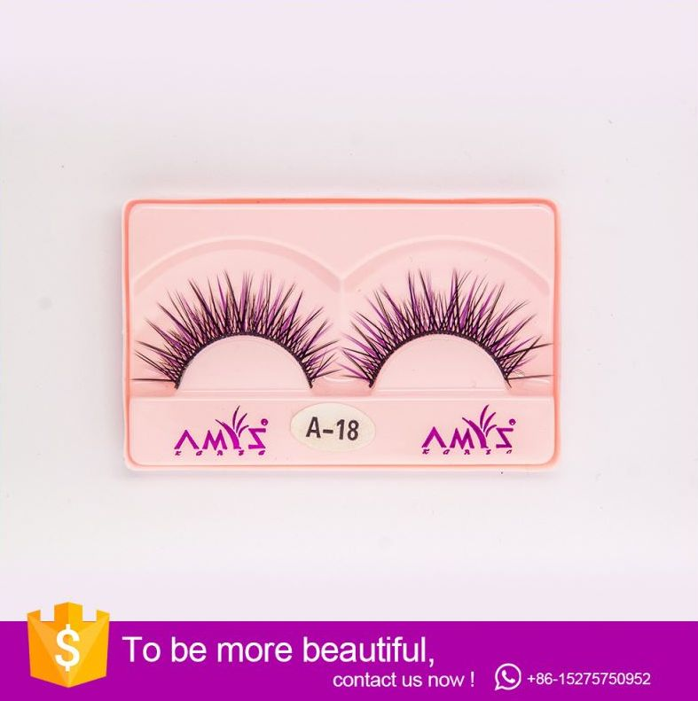 Color Mink eyelashes - Individual Eyelash Extensions