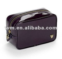 China manufactured PU mens toiletry bag and travel cosmetic bag