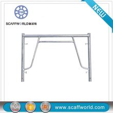 Q235 heavy duty Dip Paint all-round drop lock ladder scaffolding frame