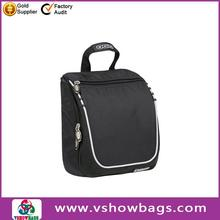 2012 lady fashional leather sports toiletry bag