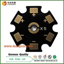 High precision copper substrate, pcb creation and electrically neutral thermal path of copper substrate