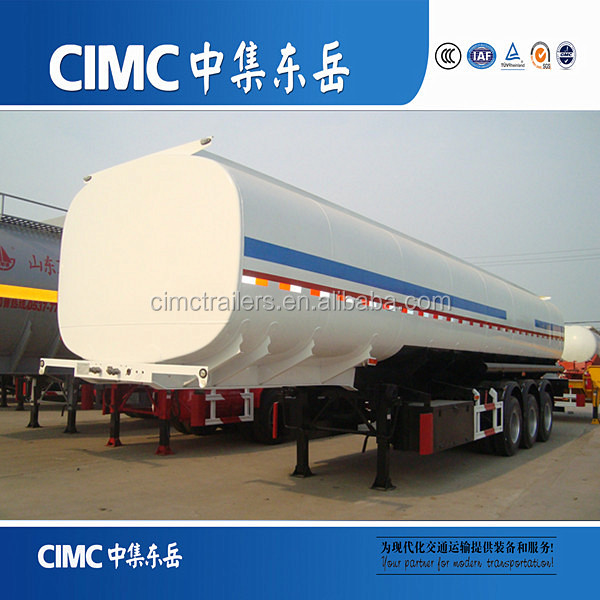 CIMC 3axle liquid gas trailer tanker
