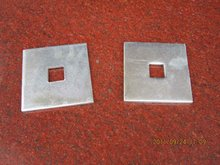 Curved square washer / flat washer / stay plate