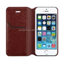 For Apple iPhone 6 Wallet Cover Retro Leather Side Flip Case, Mix Colors, High Quality