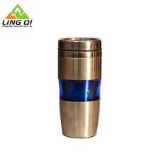 China manufacturer 450ml stainless steel auto travel tumbler mug /thermos cup