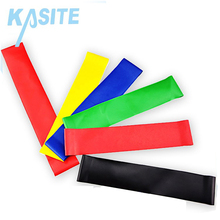 100% Natural Malaysia Custom Exercise Latex Loops Fitness Resistance Band