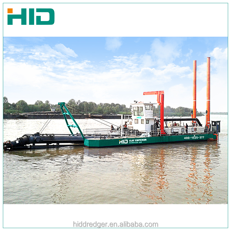 HID dredger 20 inch mini dredging machine price sand suction dredger for sale
