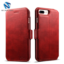 Multi-function Mobile Flip PU Leather Wallet Case Cover with Stand Function for iPhone 7 Plus