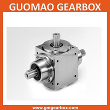 T series right angle spiral bevel gearbox