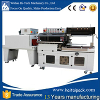 L Sealer Shrink Tunnel Packaging Machine for Yoghurt Cup